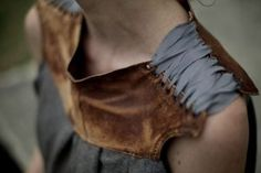collar made from old boots