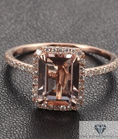 Emerald Cut Engagement Rings Pave 34