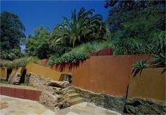 This garden was designed by Vladimir Sitta who's based in Sydney, Australia.