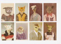 If animals had school photos...