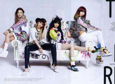 2NE1 | Nylon Korea May 2014 issue