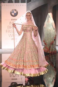 Suneet Varma - BMW India Bridal Fashion Week 2015