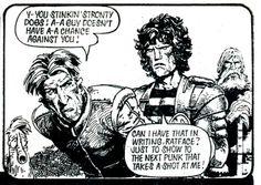 "carlos ezquerra strontium dog | Saturday Series: A panel from 2000 AD""Strontium Dog: The Galaxy ..."