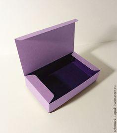 Упаковка ручной работы. Ярмарка Мастеров - ручная работа. Купить Коробка для галстука-бабочки 12х7х3 см. Handmade. Шмуки
