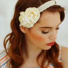 "When choosing hair accessories be sure to chose one that enhances the clients hair color, not one that ""covers"" the hair up."