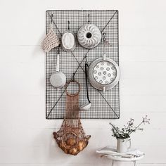 @albertandgrace herb drying rack as kitchen rack