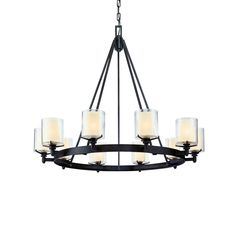 Buy the Arcadia 10 Light Chandelier by Troy Lighting