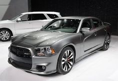 Charger: 2012 gray S/RT (drivers side front)