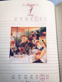 May diary illustrations