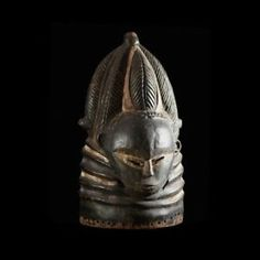 Masque casque Sowei Sande - Mende Gola - Sierra Leone | eBay