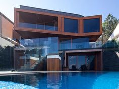 haus minimalistisch architektur design trendig schwimmbad küste