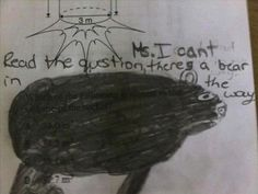 Inappropriate Test Answers from Children