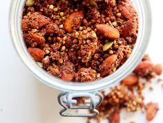 Cacao & Chia Buckwheat Granola - The Little Green Spoon