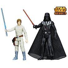 Star Wars Rebels -Mission Series, 2er Pack, Darth Vader   Luke Skywalker