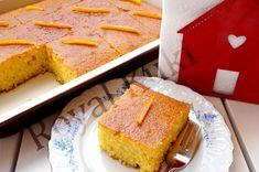 Portakallı Revani 6 Dessert Recipes, Desserts, Cake Cookies, Cornbread, Tart, Cheesecake, Food And Drink, Menu, Cooking