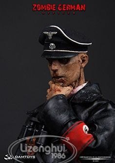 Dam Toys Zombie German SS Officer 1/6 Scale 93032