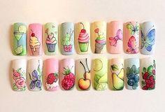 Дизайн ногтей || Уроки маникюра || Nancy Wave