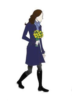 "Duchess of Cambridge Kate Middleton Fashion Pregnancy Print 8.5""x11"" McQueen, Beulah, & Zara"
