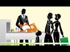 Le contrôle de sûreté dans les aéroports parisiens - YouTube