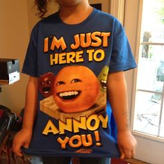Annoying Orange! Orange Party, 9th Birthday, Just For Fun, Annoyed, Party Gifts, Cool Shirts, Gabriel, Funny Things, Fun Stuff