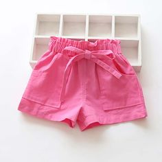 New Summer Candy Color Baby girls shorts cotton mix children shorts kids shorts for girls clothes toddler girl Shorts Toddler Girl Shorts, Kids Shorts, Toddler Outfits, Short Niña, Short Girls, Outfits Niños, Kids Outfits, Fall Outfits, Fashion Outfits