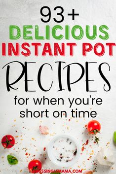 Instant Pot Recipes for Busy Moms Are you a busy mom who's short on time and needs some quick and easy dinner ideas? Check out this epic list of the best simple (and delicious!) Instant Pot recipes for busy moms! Instant Pot Pressure Cooker, Pressure Cooker Recipes, Pressure Cooking, Crockpot Recipes, Cooking Recipes, Drink Recipes, Easy Recipes, Healthy Recipes, Instant Pot Dinner Recipes