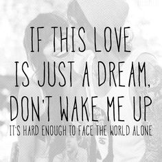 "Blessthefall - ""If this love is just a dream, don't wake me up. It's hard enough to face the world alone"""
