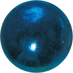 """Enormous Glass """"Lustered Blue"""" Marble - 50mm - by House of Marbles"""