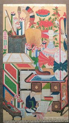 조선시대 선비의 인테리어, 책가도 : 네이버 블로그