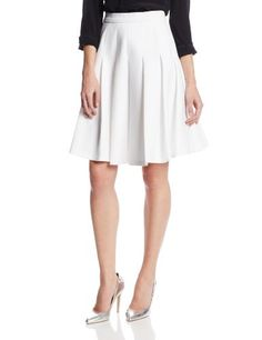 25610d3fd94 Tracy Reese Women s Tech Knit Spaced Pleated Skirt