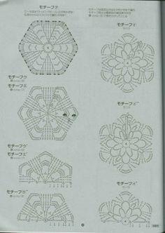 Motivos em croche - japoneses 2 - Irene Silva - Picasa-verkkoalbumit