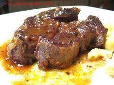 PEPOSO DE JARRET DE BOEUF Tuscan Recipes, Fett, Main Dishes, Steak, Pork, Pane Toscano, Tuscan Food, Aglio, Toscana