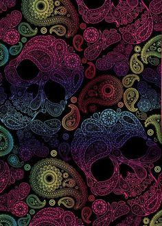 Gothic wallpaper, skull wallpaper, i wallpaper, cellphone wallpaper, patter Witchy Wallpaper, Gothic Wallpaper, Halloween Wallpaper, I Wallpaper, Pattern Wallpaper, Wallpaper Backgrounds, Sugar Skull Wallpaper, Paisley Wallpaper, Sugar Skull Art