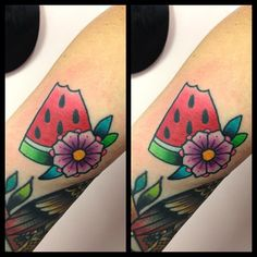 Tilly Dee @Tilly Dee | likl watermelon tattoo