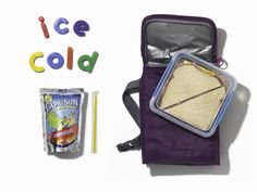Portable Ice Pack – Freeze CAPRI SUN pouches overnight. Then, pack one in each school lunch to keep the food cold and melt to drinkable temperature just in time for lunch. #PinThatTwist