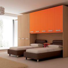 study cum wardrobe design in bedroom decor ideas. Black Bedroom Furniture Sets. Home Design Ideas