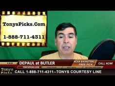 DePaul Blue Demons vs. Butler Bulldogs Pick Prediction College Basketbal...