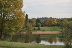plan d'eau couleurs d'automne