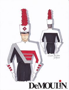 Rob Depp Designs - Made-to-Order Uniforms - Marching Band - DeMoulin 2012 ©DeMoulin Marching Band Shows, Marching Band Uniforms, Depp, Journey Tour, Uniform Design, Prop Design, Other Outfits, Inspirational Videos, Art Sketchbook