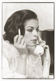 Bianca Jagger photographed in Paris by Giancarlo Botti for Grazia Neri, 1974.