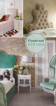 Contrast piping | At Home in Love