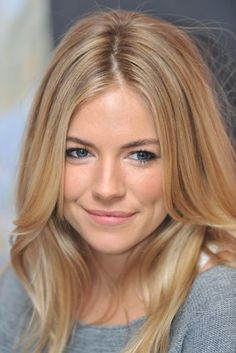 Just gorgeous. Sienna Miller. Hair color.