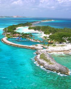Blue Lagoon Island en las Bahamas. #island #bahamas