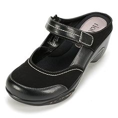 Rialto MYSTICAL Womens Mule Black  8 M * Check out this great product from Amazon.com
