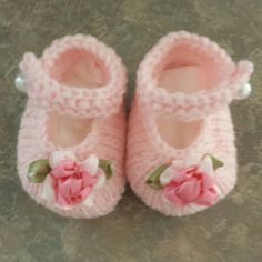 Baby Janes By Valerie Johnson - Free Knitted Pattern - (ravelry) t
