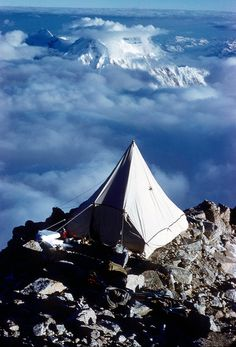 A well traveled Tent - the great escape