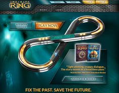 Infinity Ring: Read the books and play the games   Bright Ideas