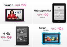 #Amazon has select #MothersDay deals including: #FireHD7 - $99 (orig. $139) #Kindle #Paperwhite - $99 (orig. $119) #Kindle - $59 (orig. $79) #FireHDKids Edition - $124 (orig. $149) Shop Now: www.shop2fund.com