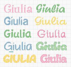 Alphabet, Cross Stitch, Bullet Journal, Names, Style, Crochet Stitches, Lyrics, Amigurumi, Punto Cruz