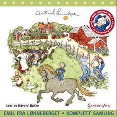ALT OM EMIL I LØNNEBERGET Trondheim, Stavanger, Childhood Memories, Illustration Art, Illustrations, My Books, Ark, Moose Art, Funny Pictures